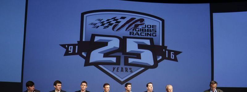 Joe Gibbs Racing looks to carry its momentum from 2015 into the upcoming season.