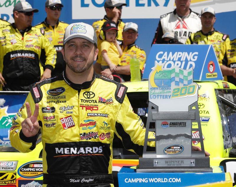 Matt Crafton Shines in North Carolina Education Lottery 200