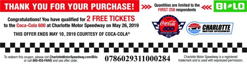 Bi-Lo Tickets Offer