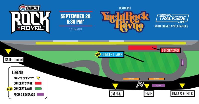 Yacht Rock Revue Map
