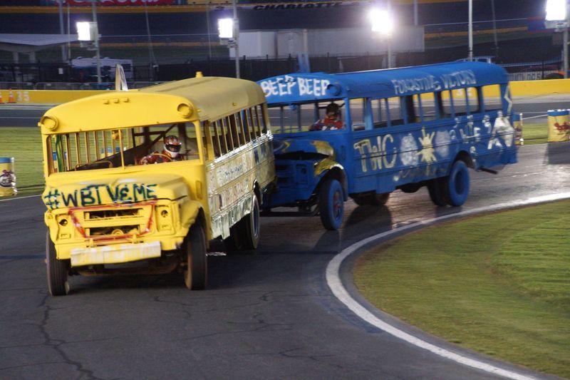 Area Principals Prep For School Bus Slobberknocker In