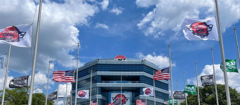 """Charlotte Motor Speedway and Blue Cross and Blue Shield of North Carolina, along with Speedway Children's Charities are teaming up to address childhood hunger in the Charlotte area with its """"Drive Out Hunger"""" initiative."""