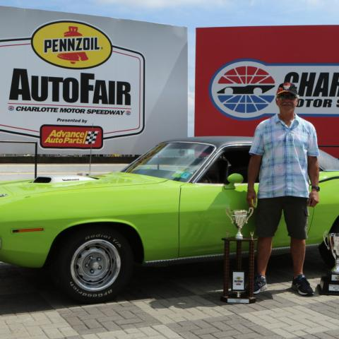 John Gray's Best of Show-winning 1970 Plymouth Barracuda