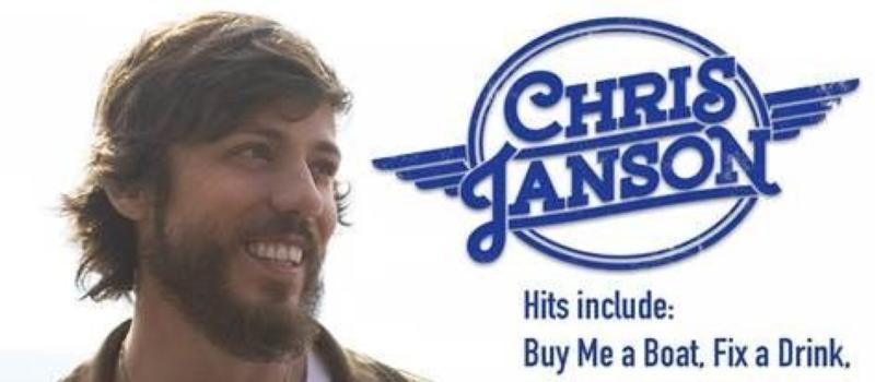 Janson drive-in concert announcement
