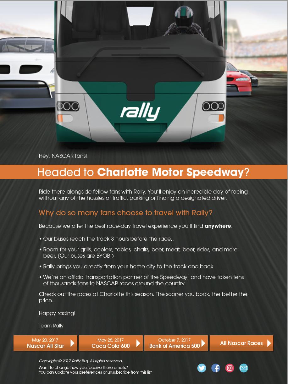 Fan tips fan info charlotte motor speedway for Charlotte motor speedway ticket office