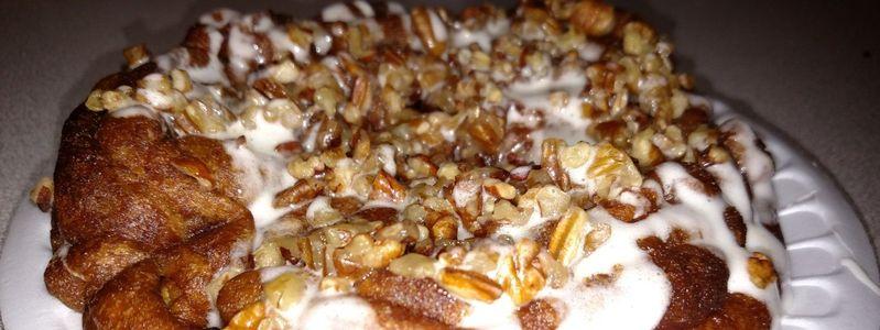 Sweet Potato Funnel Cake