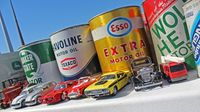 The Goodguys swap meet features an array of vintage car swag during opening day of the 22nd annual Goodguys Southeastern Nationals at Charlotte Motor Speedway.