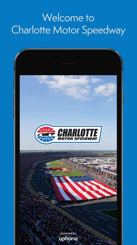 Mobile App Fan Info Charlotte Motor Speedway